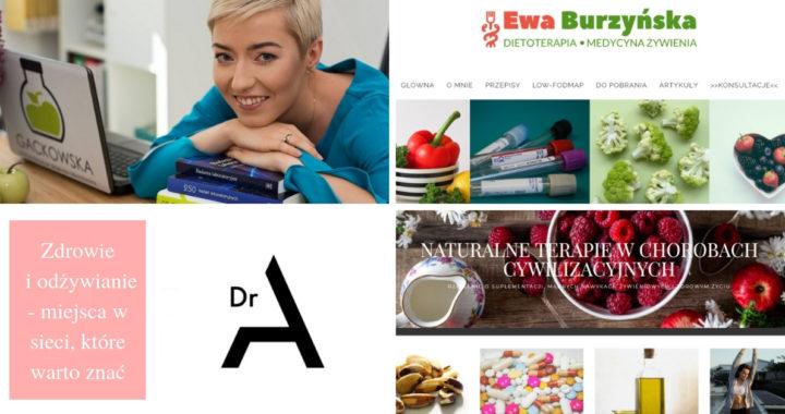 zdrowie i odżywianie- miejsca w sieci, które warto znać