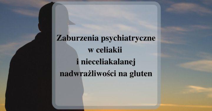 zaburzenia psychiatryczne w celiakii